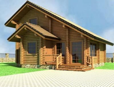Дом из бревна №99Б2