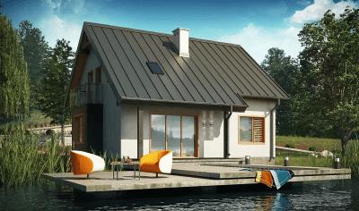 Каркасный дом №134Р3