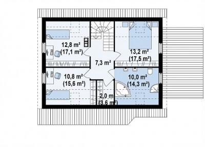 Каркасный дом №179Р2