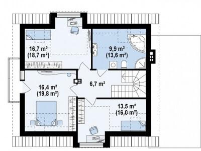 Каркасный дом №183Р