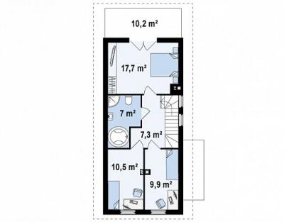 Каркасный дом №112Р5