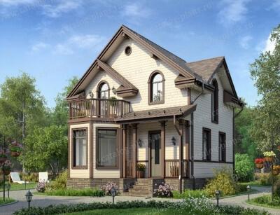 Дом из бруса №89К