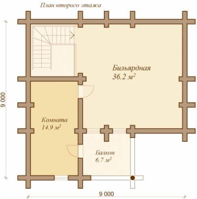 Каркасная баня №127Р