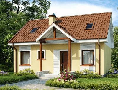 Каркасный дом №110Р2