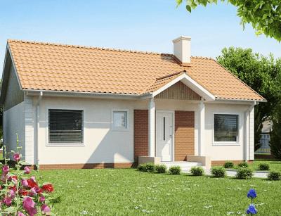 Каркасный дом №112Р4