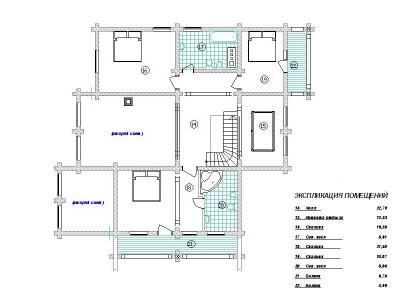 Дом из бревна №246Б