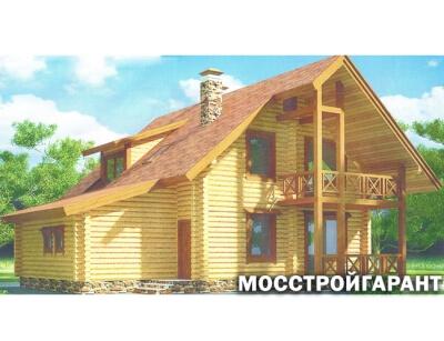 Дом из бревна №192Б