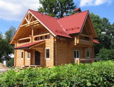 Дом из бревна №125Б