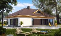 Каркасный дом №166Р3