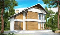 Каркасный дом №122Р2