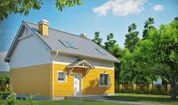 Каркасный дом №127Р4