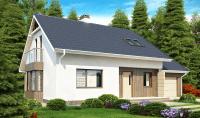Каркасный дом №180Р2