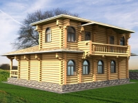 Дом из бревна №147Б