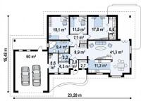 Каркасный дом №377Р