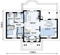 Каркасный дом №235Р