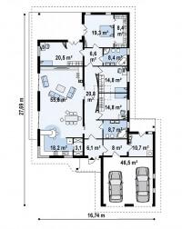 Каркасный дом №271Р