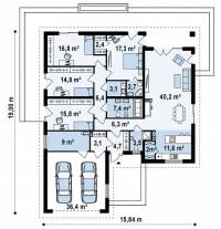 Каркасный дом №207Р2
