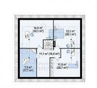 Каркасный дом №234Р