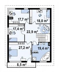 Каркасный дом №347Р