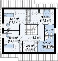 Каркасный дом №177Р