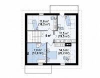 Каркасный дом №153Р2
