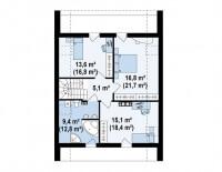 Каркасный дом №152Р