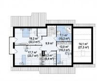 Каркасный дом №217Р2