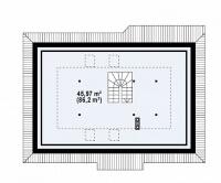 Каркасный дом №186Р3