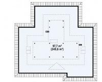 Каркасный дом №223Р3