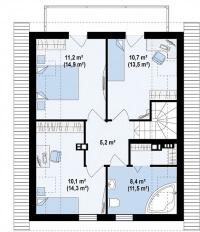 Каркасный дом №119Р