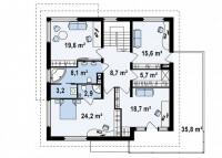 Каркасный дом №251Р