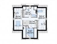 Каркасный дом №185Р3