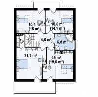 Каркасный дом №176Р3
