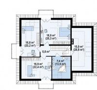 Каркасный дом №201Р