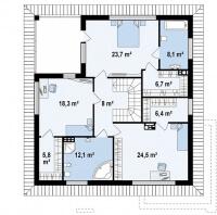 Каркасный дом №239Р2