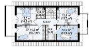 Каркасный дом №167Р3