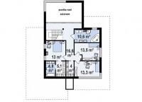 Каркасный дом №242Р2