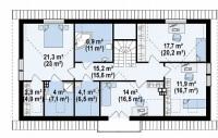 Каркасный дом №233Р