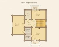 Дом из бревна №157Б