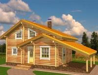 Дом из бревна №81Б