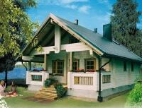 Дом из бревна №97Б