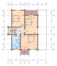 Дом из бруса №193К
