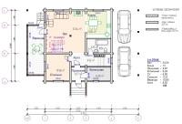 Дом из бруса №185К