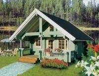 Дом из бревна №60Б